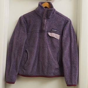 😍Patagonia retool snap T fleece pullover size S